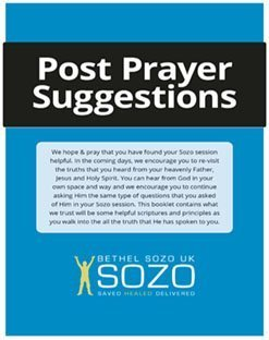 Post Prayer Suggestions